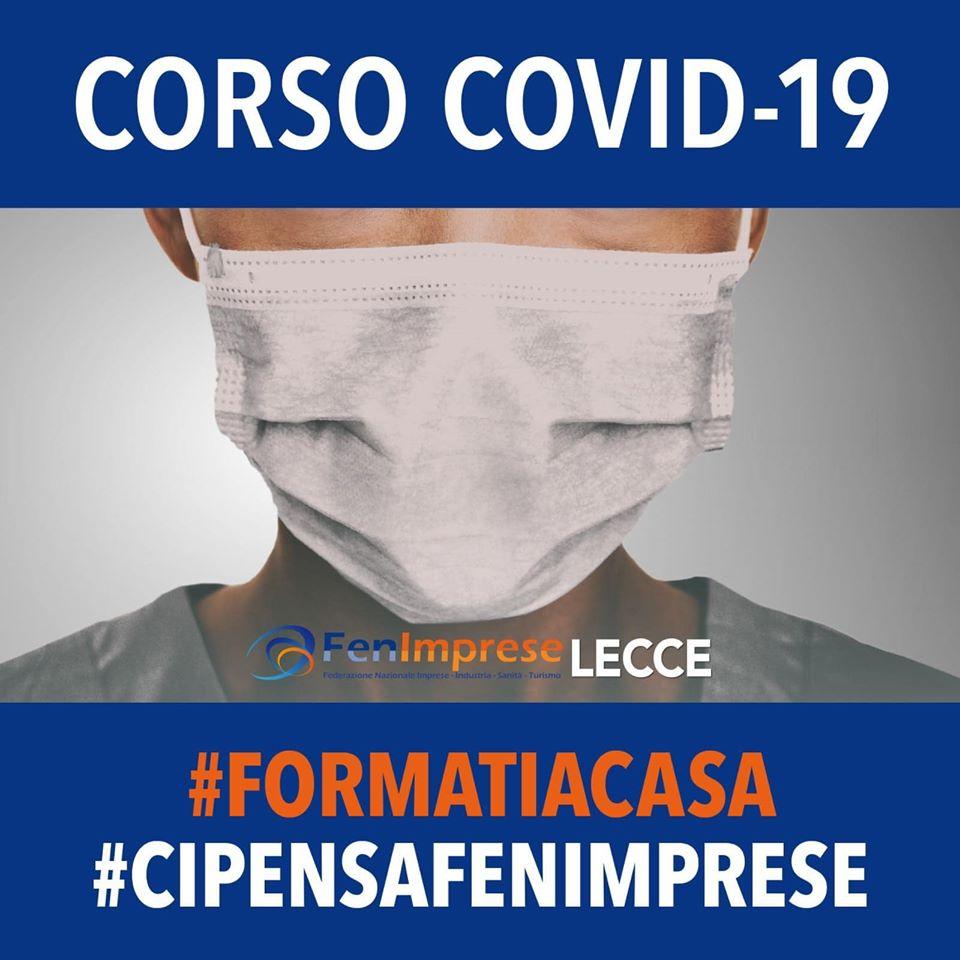 Corso covid-19 dalle sedi FenImprese Lecce e Campobasso