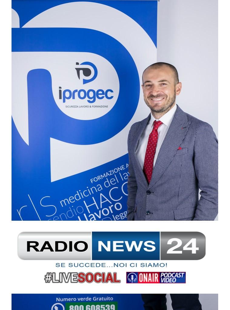 Andrea Esposito , SARA' OSPITE DI RADIO NEWS 24