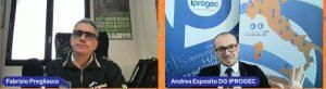 in nostro Amministratore Delegato Andrea Esposito a colloquio con il Virologo Fabrizio Pregliasco